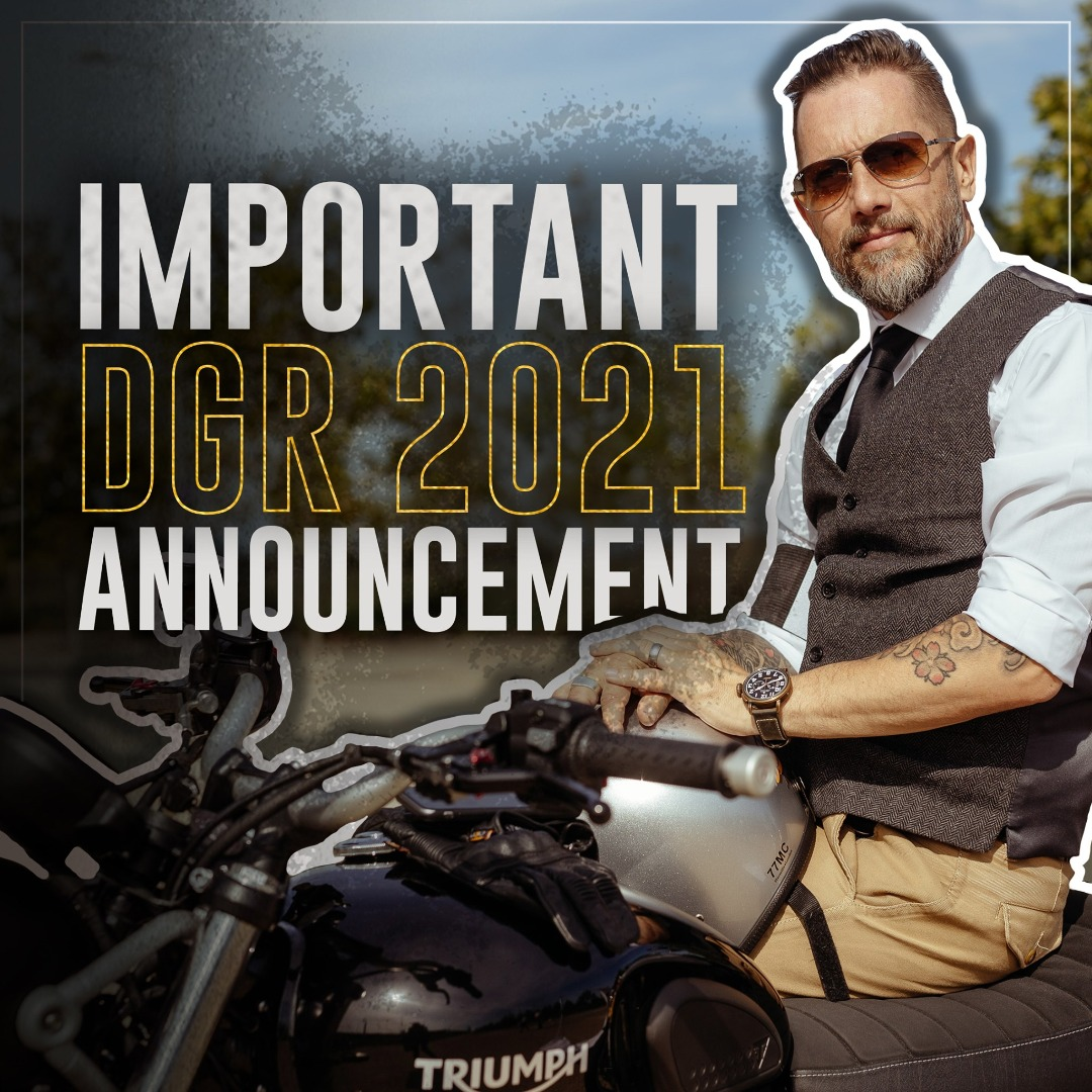 Changes are coming to DGR 2021!